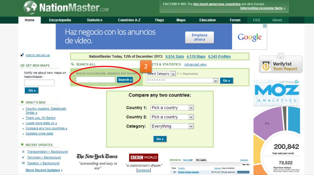 buscador nationmaster