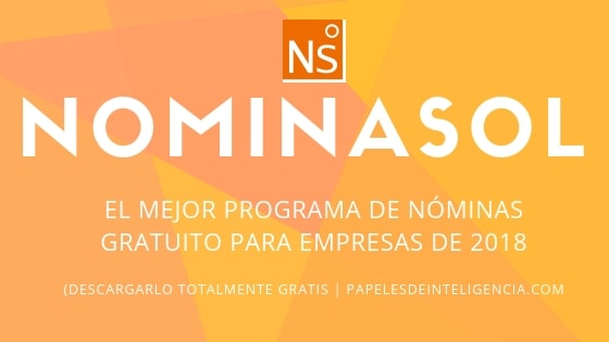 nominasol programa de nóminas